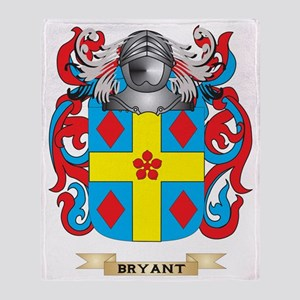 Bryant-2 Coat of Arms Throw Blanket