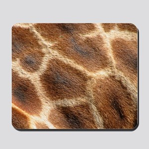 Helaine's Giraffe Patterns Mousepad