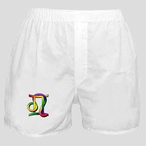 GLBT Gemini & Leo Boxer Shorts