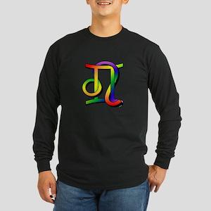 GLBT Gemini & Leo Long Sleeve Dark T-Shirt