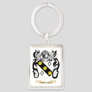 Bullis Coat of Arms Portrait Keychain