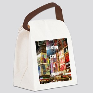 An amazing cast is good company Canvas Lunch Bag