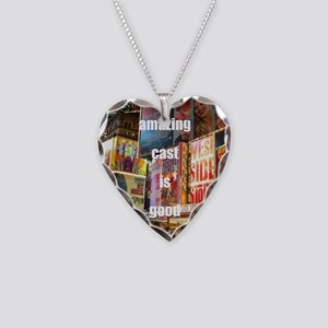 An amazing cast is good compa Necklace Heart Charm