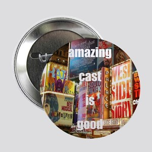 """An amazing cast is good company 2.25"""" Button"""