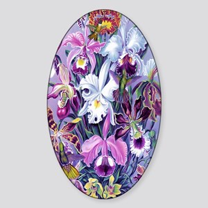 IPAD SWITCH CASE Hummers Orchids Sticker (Oval)
