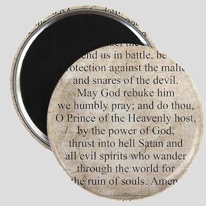 Saint Michael the Archangel Magnet