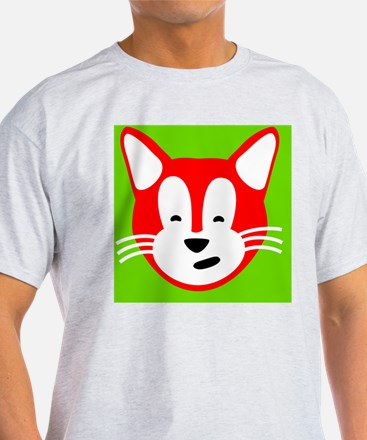 Henry Cat for Suede Pillow T-Shirt