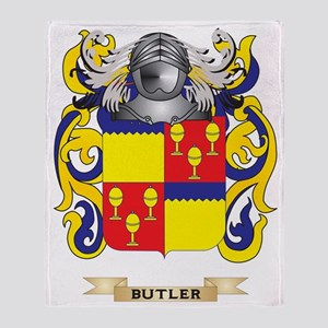 Butler Coat of Arms Throw Blanket