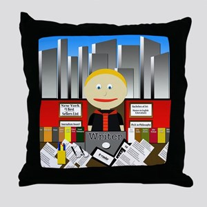 Writer Throw Pillow