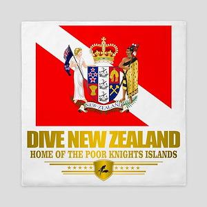Dive New Zealand Queen Duvet