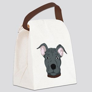 Pitbull Canvas Lunch Bag