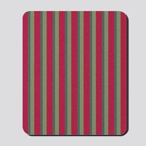 Strawberry and Citrus Stripes 1 Mousepad