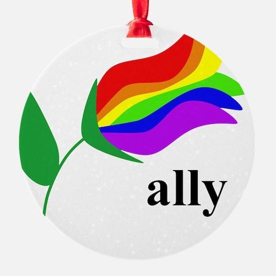 ally flower Ornament