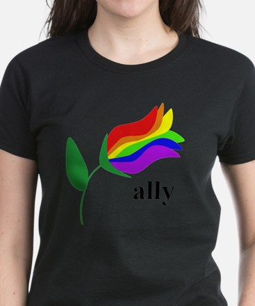 ally flower Women's Dark T-Shirt