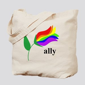 ally flower Tote Bag