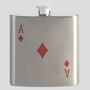 Ace of Diamonds Flask