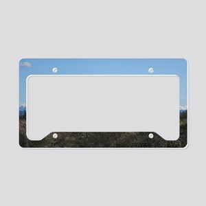 Mount Rainier   License Plate Holder