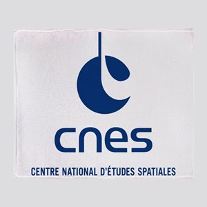 CNES Throw Blanket