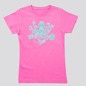 octopus-nurse-MUG Girl's Tee