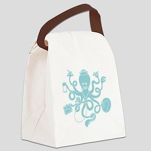 octopus-nurse-MUG Canvas Lunch Bag