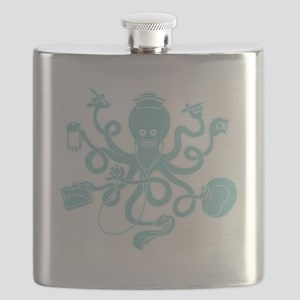 octopus-nurse-MUG Flask