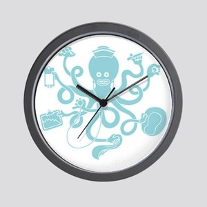 octopus-nurse-MUG Wall Clock