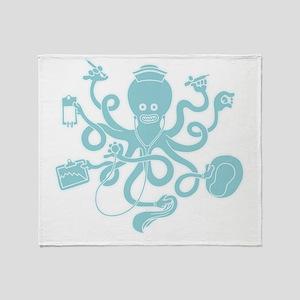 octopus-nurse-MUG Throw Blanket