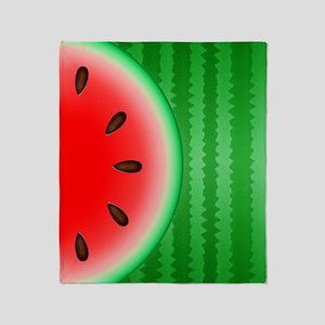 Watermelon Slice Throw Blanket