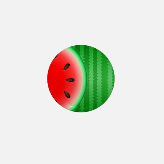 Watermelon Slice Mini Button
