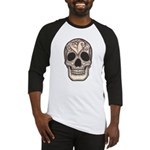 Skull with a Broken Heart Baseball Jersey