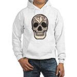 Skull with a Broken Heart Hooded Sweatshirt