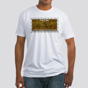 Trail of tears Fitted T-Shirt