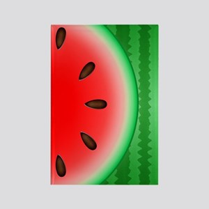 Watermelon Slice Rectangle Magnet