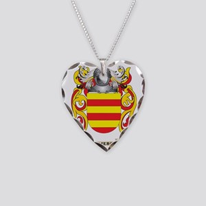 Cameron Coat of Arms Necklace Heart Charm