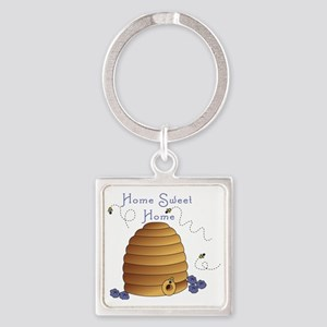 Home Sweet Home Square Keychain