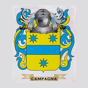 Campagna Coat of Arms Throw Blanket