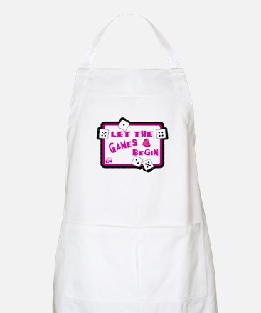 Let The Games Begin Bunco/Dice BBQ Apron