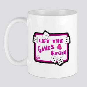 Let The Games Begin Bunco/Dice Mug