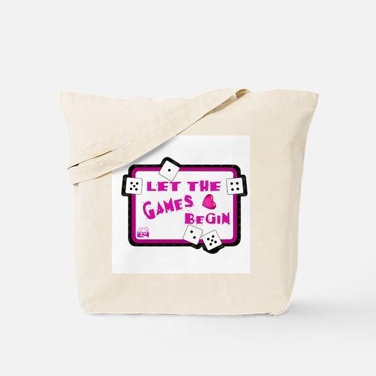 Let The Games Begin Bunco/Dice Tote Bag