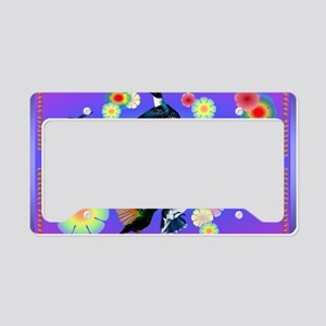 Yard For The Love Of Hummingb License Plate Holder