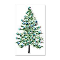 Eyeball Christmas Tree Wall Decal