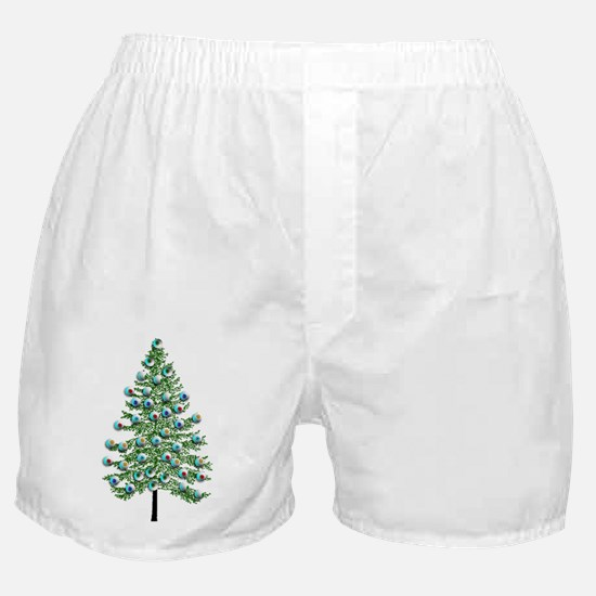 Eyeball Christmas Tree Boxer Shorts