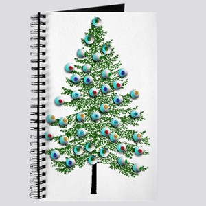 Eyeball Christmas Tree Journal