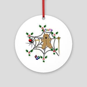 Gingerbread Sacrifice Round Ornament