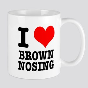 I Heart (Love) Brown Nosing Mug