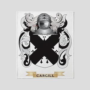 cargill Coat of Arms Throw Blanket