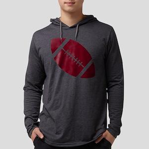 2105182crimson Mens Hooded Shirt