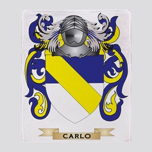 Carlo Coat of Arms Throw Blanket