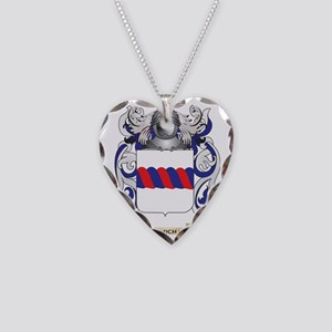 Carmichael Coat of Arms Necklace Heart Charm