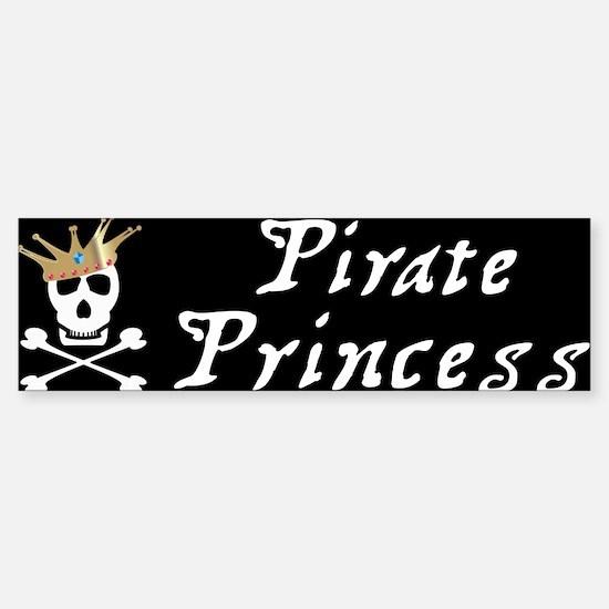 Pirate Princess Bumper Bumper Bumper Sticker